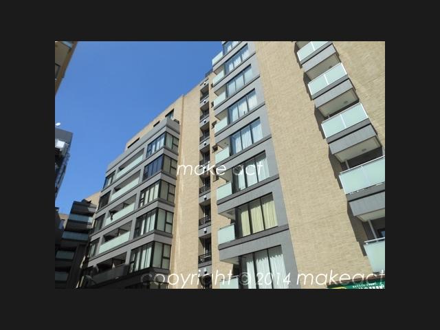ディアナガーデン広尾はデザイン性豊かな10階建の賃貸マンション!!